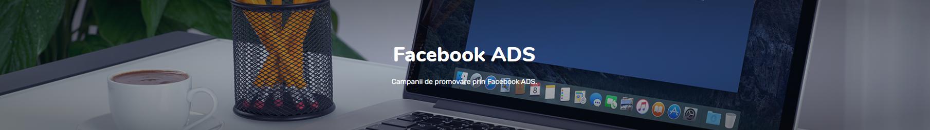 Promovare prin Facebook ADS - webcept banner